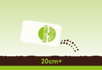 Garden Beds: Use More than Garden Mix as you would topsoil on your gardens to a depth of at least 200mm.  For heavy soils and clay it will act as a claybreaker. At planting, dig a hole then fill with More than Garden Mix around plant roots in planting holes.