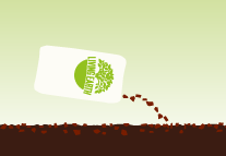 For best results apply Living Earth More than Mulch on top to conserve moisture.