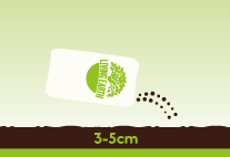 Sowing New Lawns: Use it at 30-50mm depth on newly cultivated soil that has been cleared of weeds and old turf.