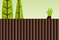 Wave pleasantly to your neighbours as they jealously look over the fence at your amazing garden.